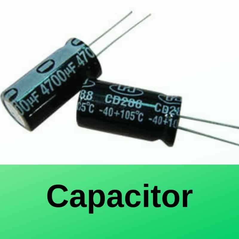 Capacitor Symbol And Working Explained